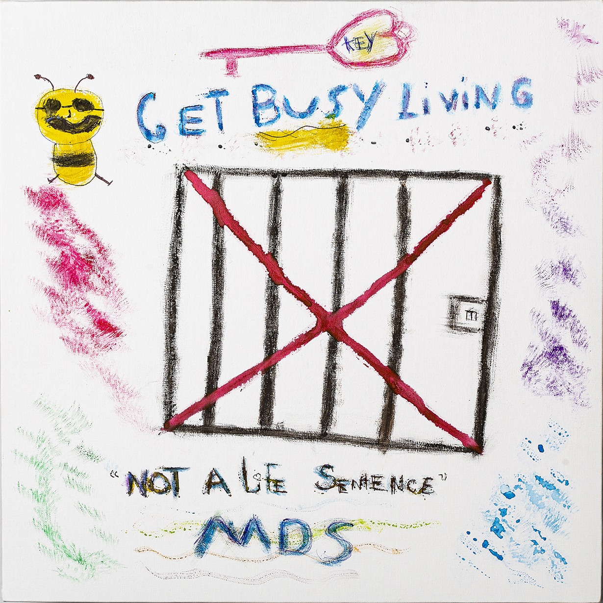 "JOAN POWELL, GET BUSY LIVING: MDS is a new normal of life. You can get busy living or get busy dying. I chose life — ""Get Busy Living""."
