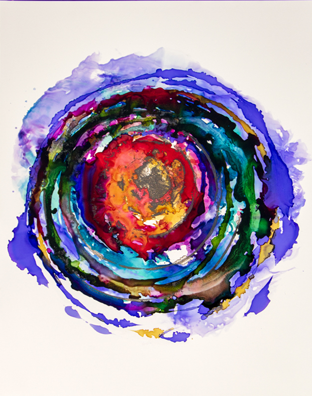 KRISTIN LAMELAS, UNTITLED: I created this Mandala series to fill myself and others with love and joy.
